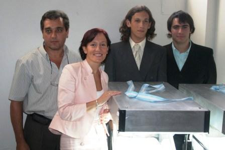 Estudiantes donaron equipamiento neonatológico al Hospital de Pacheco