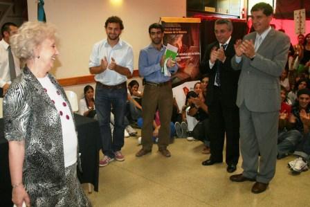 Julio Zamora y Estela Carlotto dieron inicio a la Semana de la Memoria en Tigre