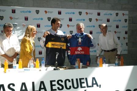 Tigre y Boca se jugaron por la educación