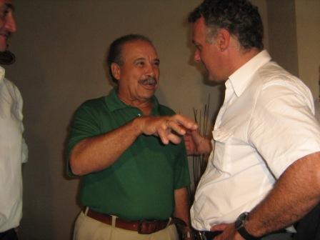 Gnoffo almorzó con el presidente de la OMB