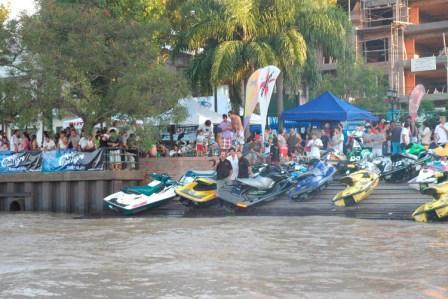 El Campeonato Argentino de Jet Ski en aguas de Tigre