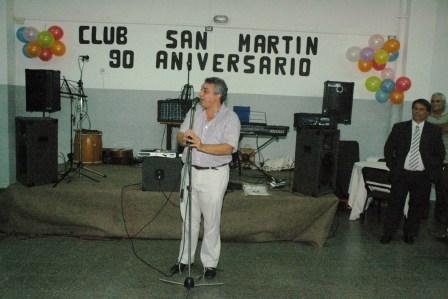 El Club Atlético y Social San Martín de Tigre festejó su 90 aniversario