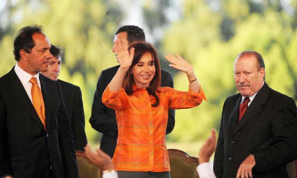 Cristina anunció importantes obras para San Fernando