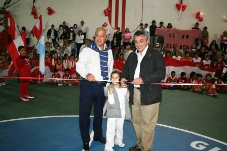 Nueva cancha de Futsal del Club Glorias de Tigre