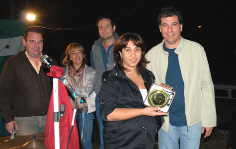 Daniel Gambino y Adrián Gastaldi,  presentes en la Jornada del Club Social y Deportivo Zorzal Junior