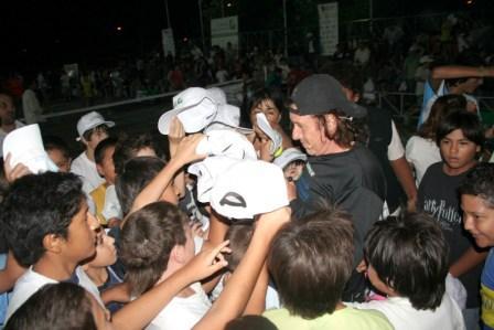 El tenis de Vilas brilló en Don Torcuato
