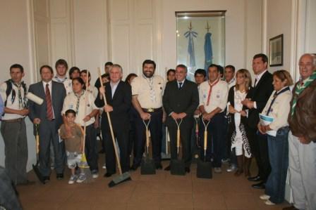 Tigre celebró un convenio de cooperación con los Scouts de Argentina