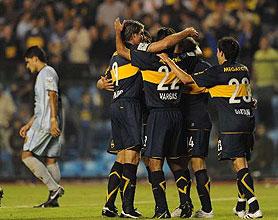 Boca venció a Guaraní y esta a un paso de los octavos de final de la copa libertadores