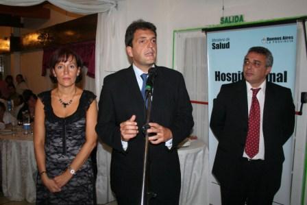 El Hospital de Pacheco celebró su 108 aniversario - Discurso Massa