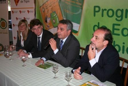 Cierre de la Campaña de Educación y Concientización Ambiental para las Escuelas de Tigre.