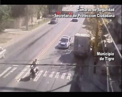 Don Torcuato: Gracias a las cámaras de seguridad atraparon a ladrones de moto