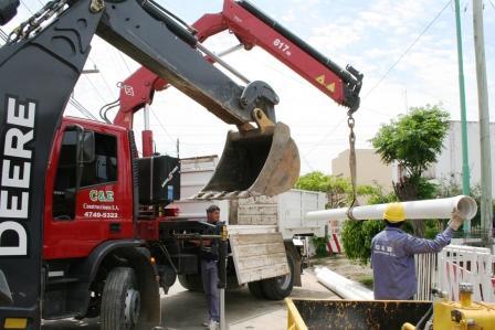 Comienzan las Cloacas en Don Torcuato