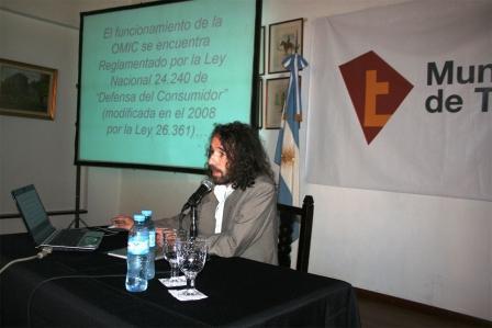 Mauricio Bianchi, titular de la OMIC de Tigre