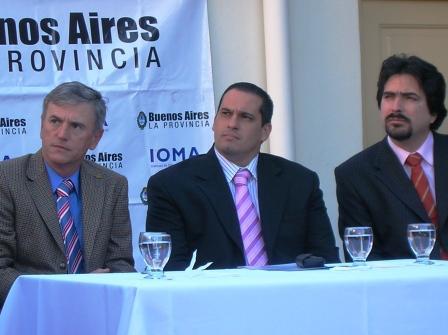 Leandro Martín asumió la Dirección de IOMA Regional San Isidro