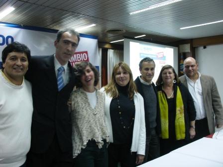 El Acuerdo Cívico y Social presentó sus candidatos a concejales en San Fernando