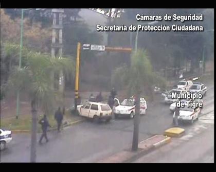 Las cámaras de seguridad permitieron atrapara a delincuente de Don Torcuato