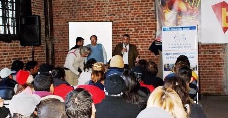 Inclusión laboral para 500 vecinos de Tigre