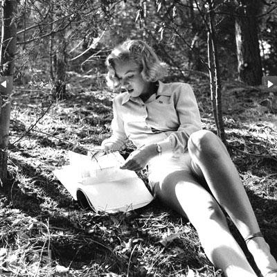 Publican un serie de imágenes inéditas de la actriz Marilyn Monroe