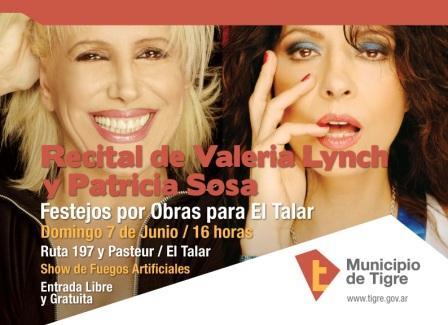 Valeria Lynch y Patricia Sosa en El Talar