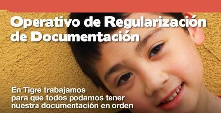 Operativo de Regulación de Documentación en Tigre