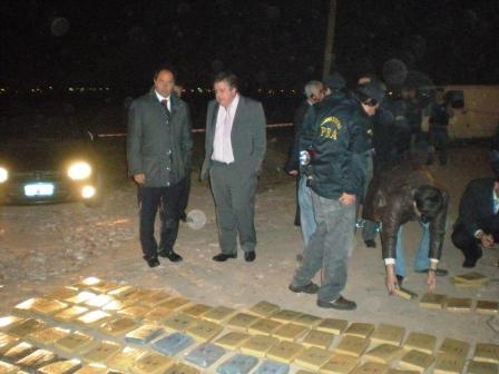 Scioli elogió accionar policial que permitió incautar 1220 kilogramos de marihuana