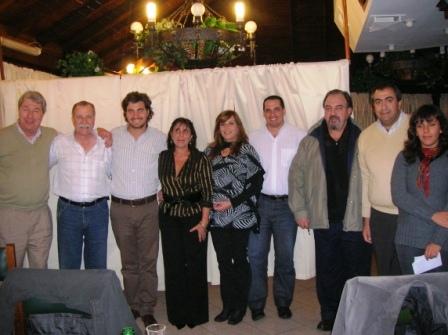 San Isidro: Frente Justicialista para la Victoria organizó una cena de campaña.