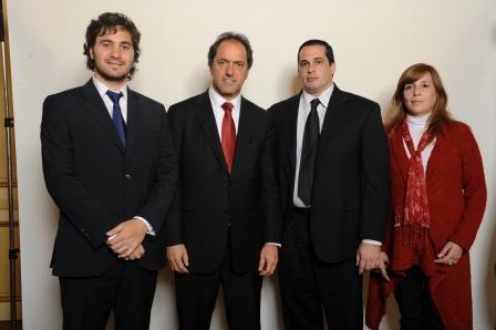 Daniel Scioli se reunió con los candidatos a concejales del FJPV de San Isidro