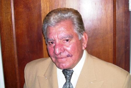 El primer Candidato a concejal y Presidente de Acción Comunal por  San Fernando Abel Arnulfo Gómez