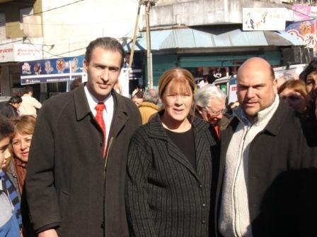Margarita Stolbizer acompañó a los candidatos de San Fernando