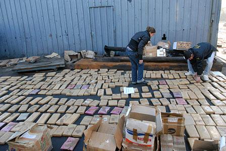 Quemaron más de dos toneladas de marihuana y 500 kilos de cocaína en la Provincia