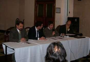Entregaron certificados de garantías de Fogaba a empresas de Vicente López