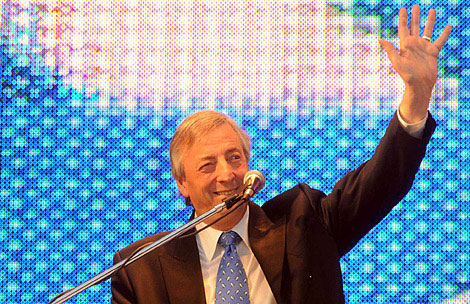 El ex presidente Néstor Kirchner salió de terapia intensiva