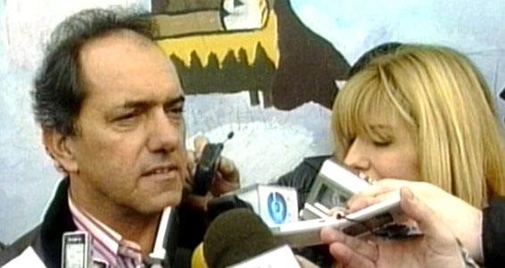 El gobernador Daniel Scioli votó en Tigre