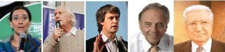 Los principales candidatos porteños ya votaron