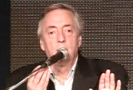Néstor Kirchner rompió el silencio