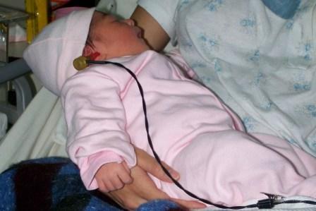 Diagnóstico auditivo en la Maternidad de Tigre