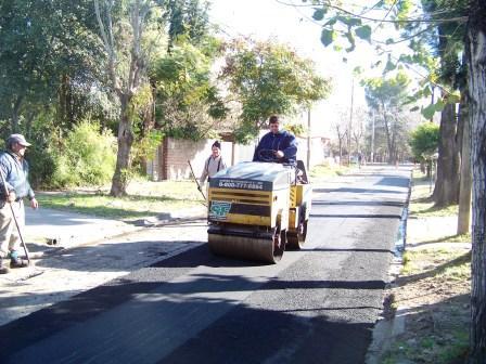 San Fernando: Avanzan tres frentes de pavimentación
