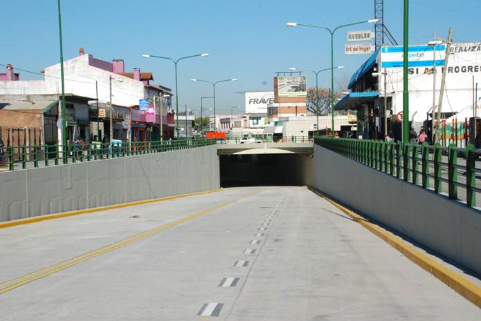 El túnel de Boulogne será inaugurado el jueves 6