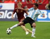 Argentina consiguió un buen triunfo ante Rusia y llegara entonada al clásico con Brasil