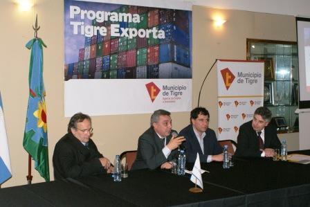 El Municipio de Tigre presentó el Programa Tigre Exporta en un acto realizado en la sede de la Unión Industrial de Tigre (UIT)