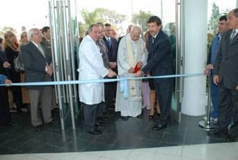 Inauguraron las obras de ampliación y remodelación del hospital de Boulogne
