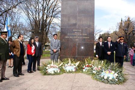 Tigre homenajeó al General Don José de San Martín