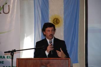 El intendente de San Isidro, Dr. Gustavo Posse, presidió esta tarde al acto de inauguración del encuentro de la Primera Misión Técnica Internacional sobre Gestión Ambiental Local