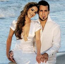 Se casaron Victoria Vanucci y el
