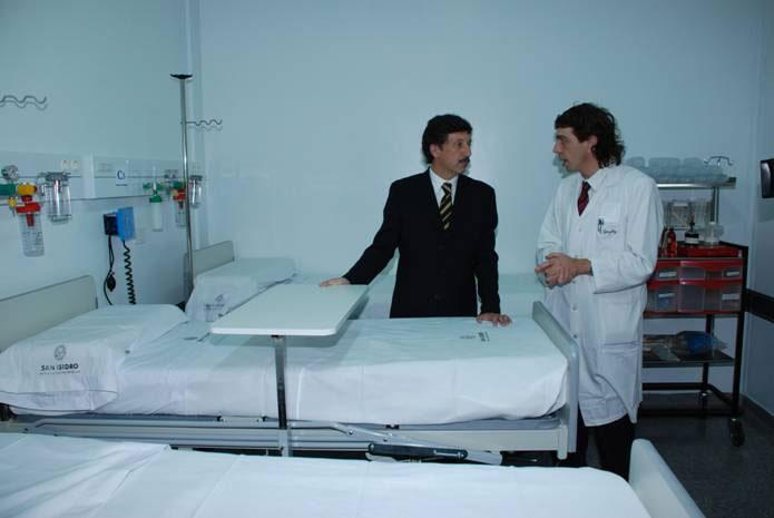 el intendente sanisidrense, Dr. Gustavo Posse, inauguró y dejó habilitada la flamante Unidad de Contención y Tratamiento para Pacientes expuestos a Agentes Biológicos Transmisibles