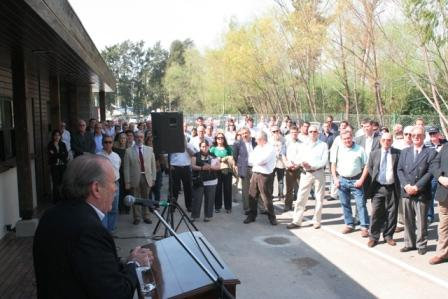 Amieiro inauguró las nuevas oficinas del Centro de Exposiciones Parque Náutico