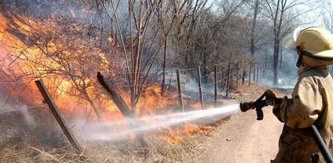Sigue el combate contra incendios en Córdoba
