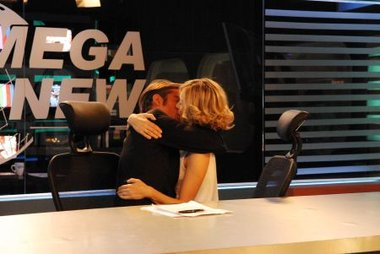 Carla Peterson visitó a Susana Giménez y no quiso confirmar su romance con Mike Amigorena