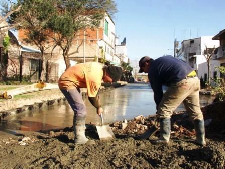San Fernando avanza con el plan de obras