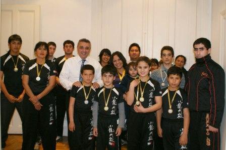 Representantes de Tigre brillaron en el Sudamericano de Wushu